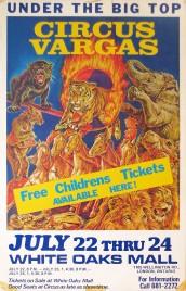 Circus Vargas Circus poster - USA, 0