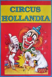 Circus Hollandia Circus poster - Netherlands, 1994