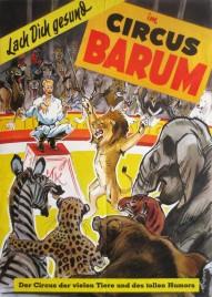 Circus Barum Circus poster - Germany, 1955