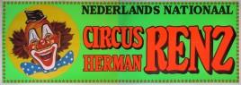 Circus Herman Renz Circus poster - Netherlands, 0