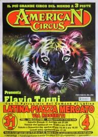 American Circus Circus poster - Italy, 2013