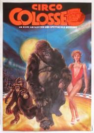 Circo Colosseo Circus poster - Italy, 1986