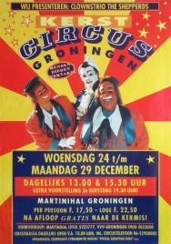 Kerst Circus Groningen Circus poster - Netherlands, 1997