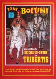 Toni Boltini pres. de Circus-Story van Tribertis Circus poster - Italy, 1996