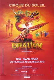 Cirque du Soleil - Dralion Circus poster - Canada, 2013