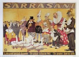 Circus Sarrasani - Reprint Circus poster - Germany, 1987