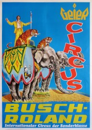 Circus Busch-Roland Circus poster - Germany, 1978