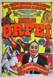 Circo Rinaldo Orfei Circus poster - Italy, 2012