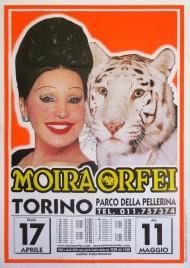 Circo Moira Orfei Circus poster - Italy, 2003