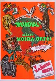 Cirkus Moira Orfei Circus poster - Italy, 1998