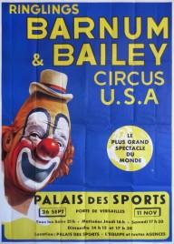 Ringlings Barnum & Bailey Circus U.S.A. Circus poster - USA, 1963