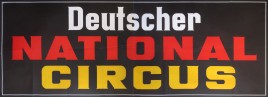 Deutscher National Circus Circus poster - Germany, 0