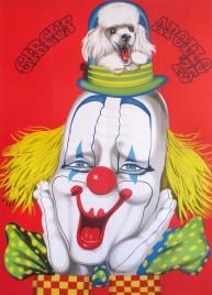 Circus Apollo '75 Circus poster - Hungary, 1975