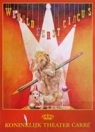 Wereld Kerst Circus Circus poster - Netherlands, 1997