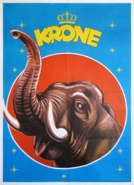 Circus Krone Circus poster - Germany, 1974