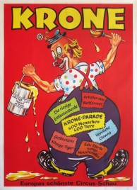 Circus Krone Circus poster - Germany, 1975