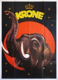 Circus Krone Circus poster - Germany, 1959