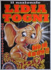Circo Lidia Togni Circus poster - Italy, 0