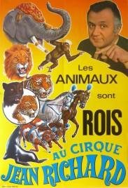 Cirque Jean Richard Circus poster - France, 1970