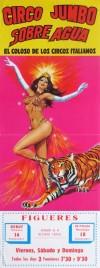 Circo Jumbo - Sobre Agua Circus poster - Spain, 1983