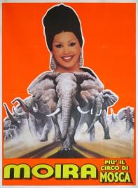 Moira piu' il Circo di Mosca Circus poster - Italy, 0