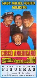 Circo Americano Circus poster - Spain, 1977