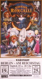 Circus Roncalli Circus poster - Germany, 1988