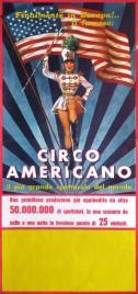 Circo Americano Circus poster - Italy, 1964