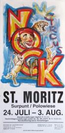 Circus Nock Circus poster - Switzerland, 1998