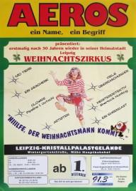 Aeros - Weihnachtszirkus Circus poster - Germany, 0