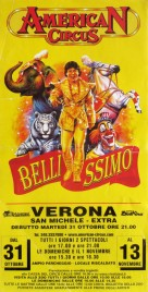 American Circus Circus poster - Italy, 2006