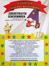 Circus Ross-Hanson Circus poster - Netherlands, 1983