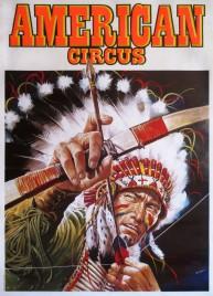 American Circus Circus poster - Italy, 1989