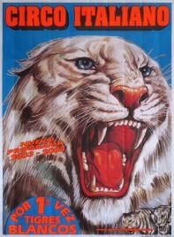Circo Italiano Circus poster - Spain, 2003
