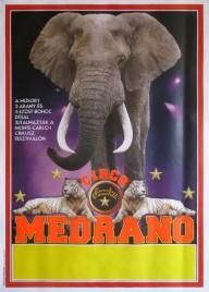Circo Medrano Circus poster - Italy, 2011