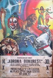 Korona - Bukurest Circus poster - Serbia, 1983