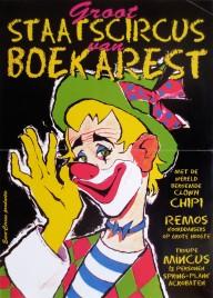 Groot Staatscircus van Boekarest Circus poster - Netherlands, 0