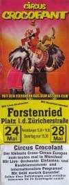 Circus Crocofant Circus poster - Germany, 1995