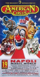 American Circus Circus poster - Italy, 2014