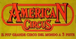 American Circus Circus poster - Italy, 2004