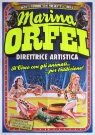 Circo Marina Orfei Circus poster - Italy, 2013