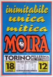 Circo Moira Orfei Circus poster - Italy, 2002