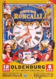 Circus Roncalli - Good Times Circus poster - Germany, 2015