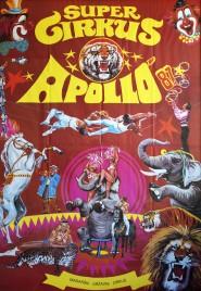 Super Cirkus Apollo '87 Circus poster - Hungary, 1987
