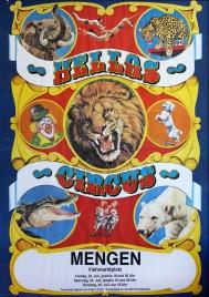 Circus Hellas Circus poster - Germany, 1976