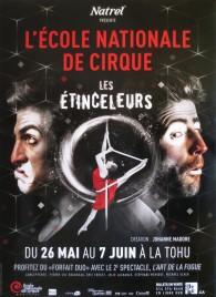 L'école Nationale de Cirque - Les Étinceleurs Circus poster - Canada, 2015