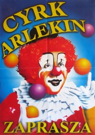 Cyrk Arlekin Circus poster - Poland, 0