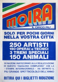 Circo Moira Orfei Circus poster - Italy, 0