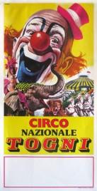 Circo Nazionale Togni Circus poster - Italy, 1983
