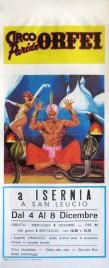 Circo Paride Orfei Circus poster - Italy, 1985
